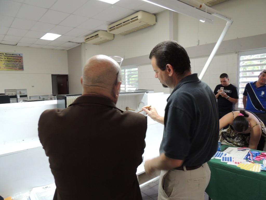 Arnaldo Repollet aprentice under COM Judge Jose Ravelo.
