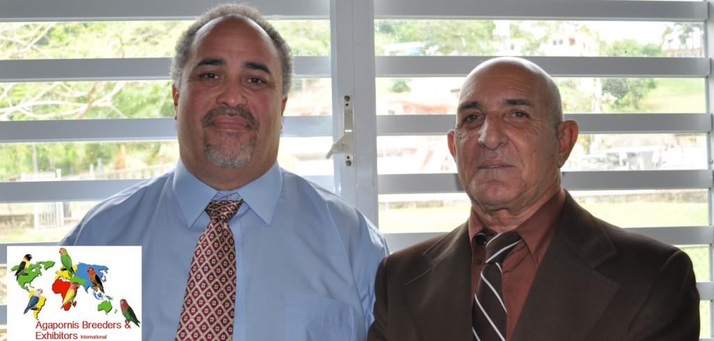 ABE Show Trujillo Alto, Puerto Rico - Judges Luis Ocasio and Jose Ravelo Courtesy Gerardo Toledo