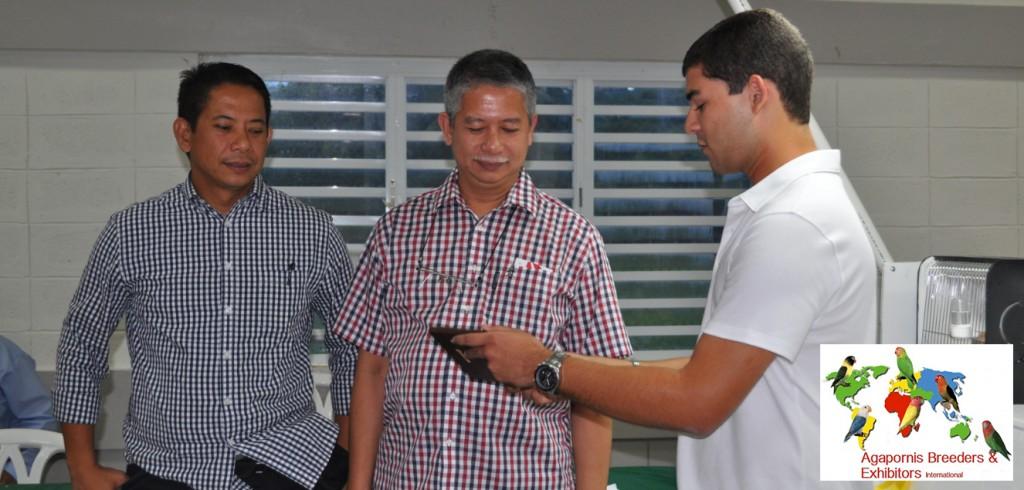 ABE Show Trujillo Alto, Puerto Rico - Fabio Tarazona presents the Badilla brothers, Bobby and Billy with a token of appreciation. Courtesy Gerardo Toledo
