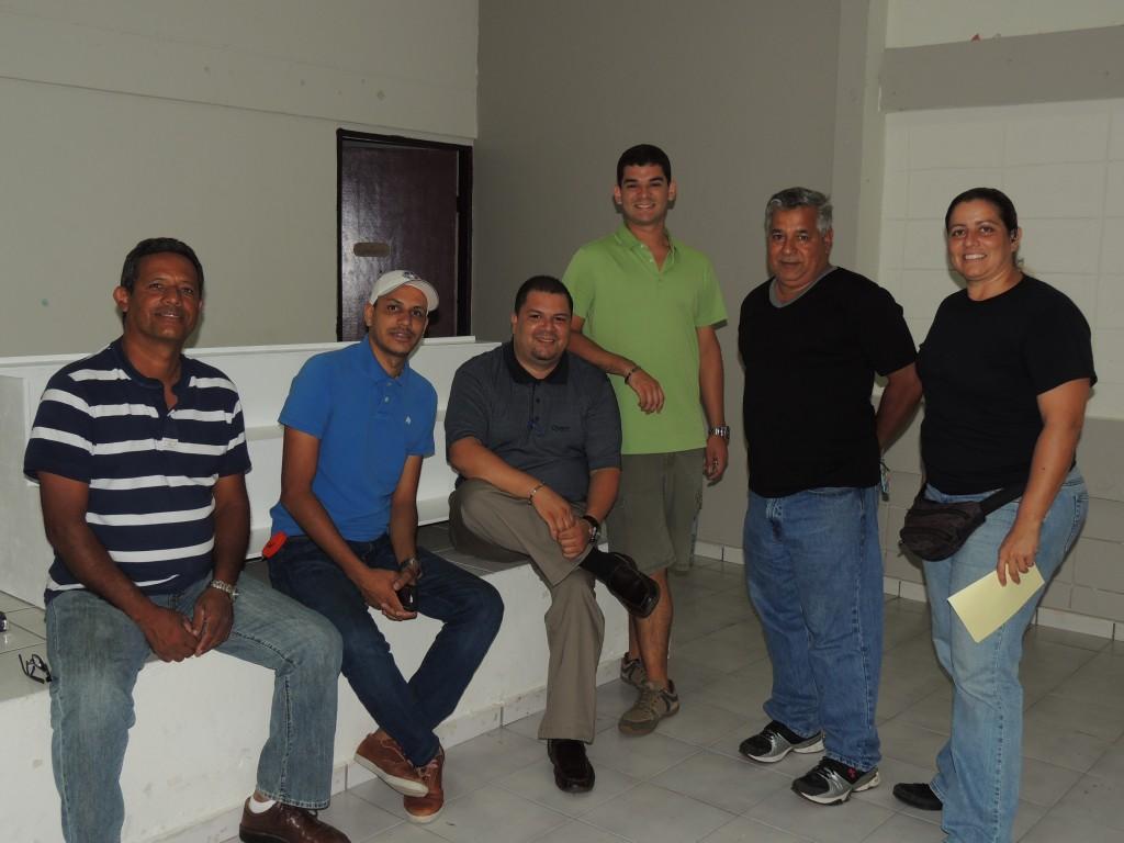 Nelson & Elvin Sanabria, Nicky Mass, Fabio tarazona, Ramon Fernandez and Alejandra Cabeza.