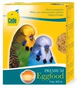 CeDe - eggfood, offer when rearing young or when getting ready to breed. CeDe - alimento a base de huevo, ofrezca cuando estan criando o antes de comenzar a criar. Picture courtesy Rafael Colon