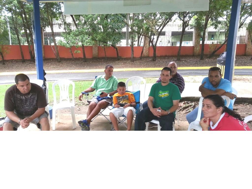 Seminar Agust 18, 2013 in Bayamon, Puerto Rico - Courtesy Luis Ocasio In this picture: Nicky Mass, Luis Hernandez, Alejandra Cabeza, Javier Aponte, Ramon Luis y Aviario AC.