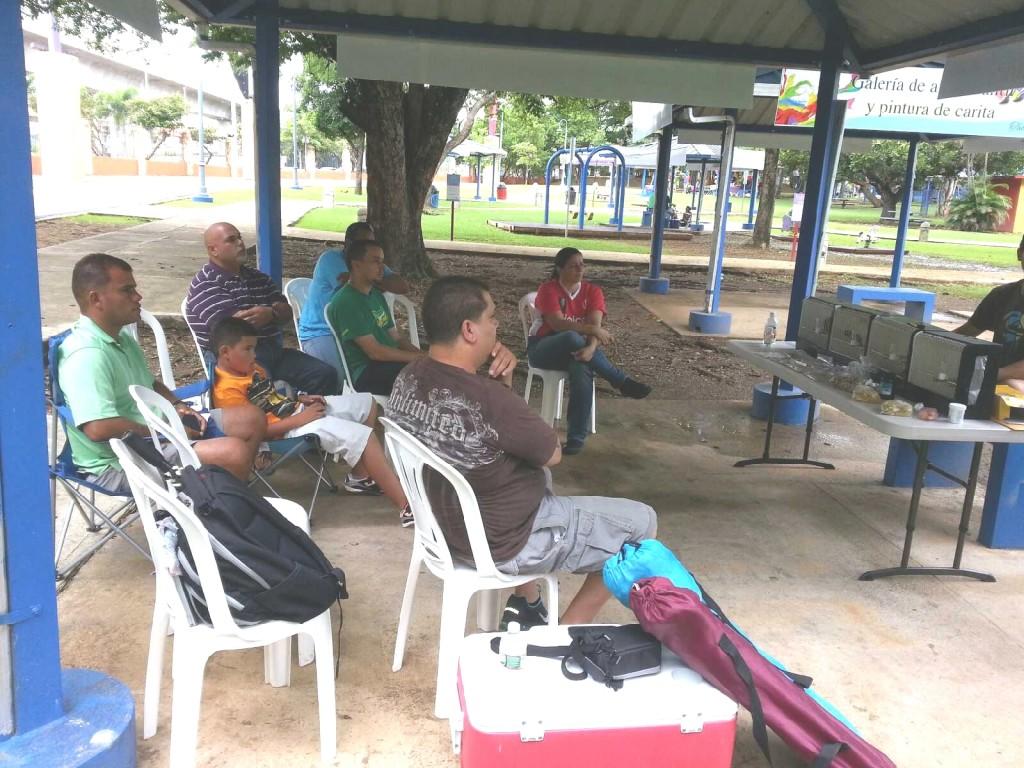 Seminar August 18, 2013 in Bayamon, Puerto Rico - Courtesy :Luis Ocasio