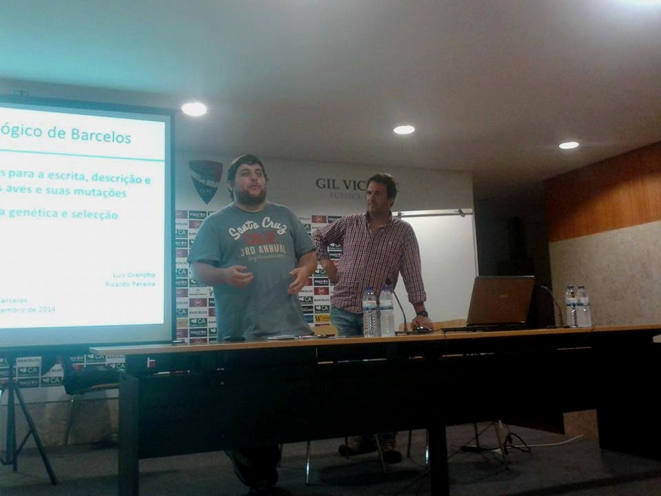Speakers Ricardo P. and Luis G. at the seminar held Saturday, September 27, 2014 Courtesy Luis Grencho