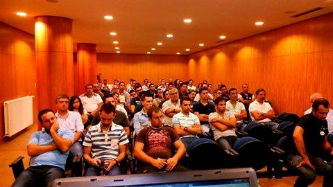 Exhibitors attending the seminar at Barcelos 2014 - Courtesy Luis Grencho