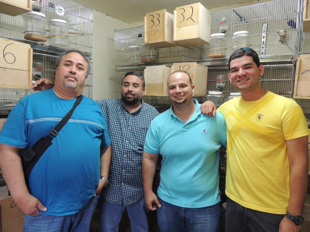 Visiting aviaries in Miami - copyright M. Salmones