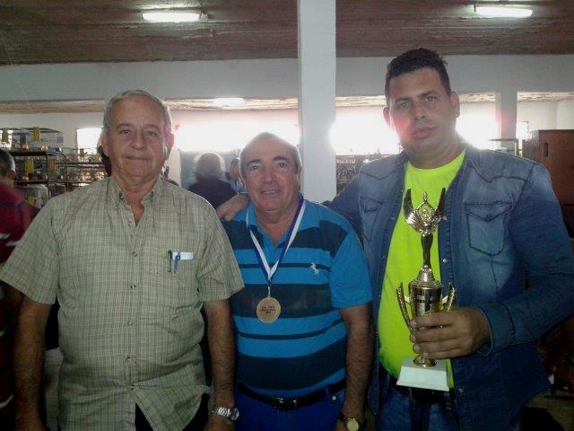ASOCIACION NACIONAL ORNITOLOGICA CUBANA (ANOC) NATIONAL SHOW 2016 affiliated with ABE Martin Gil, Rafael Lima y Rodolfo Mestril